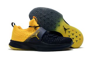 e567fe50bb45e4 Image is loading JORDAN-SNEAKERS-Trainer-2-Flyknit-College-Michigan-Navy-.  Image not available Photos not available for this variation