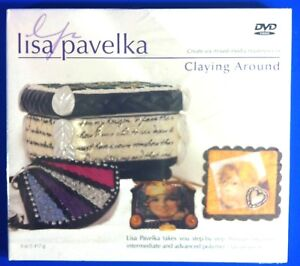 Lisa-Pavelka-Claying-Around-Intructional-DVD-Create-6-Mixed-Media-Masterpieces