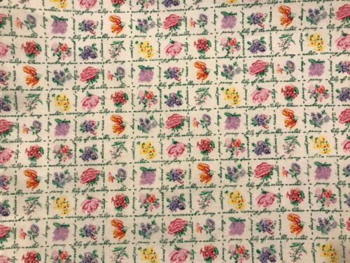 """// 16/"""" x 43/"""" Custom-made w// LONGABERGER Mini May floral fabric table runner"""