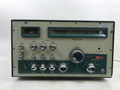 Heathkit Hx 10 Marauder Vintage Ham Radio Transmitter Ebay