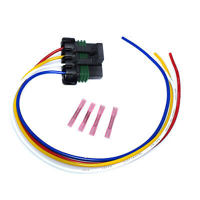 S-1352 4 Wire Pigtail Electrical  harness connector for Blower Motor
