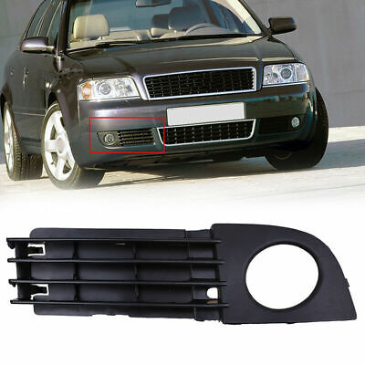 AUDI A6 4F 2005-2008 right front bumper lower grille with fog lights hole RH