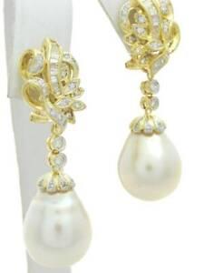DIAMOND-DANGLE-EARRINGS-SOUTH-SEA-PEARL-DROP-EARRINGS-18K