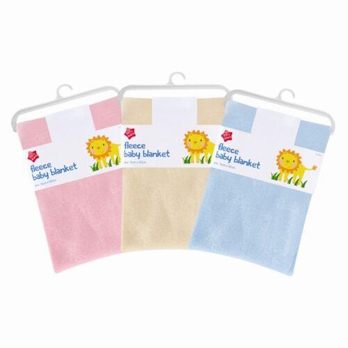 New Baby Newborn Soft Fleece Blanket Shawl Pram Cot Crib Moses Basket Maternity