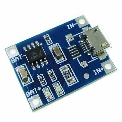 15V Micro USB 1A 18650 Lithium Battery Charging Board Charger Module