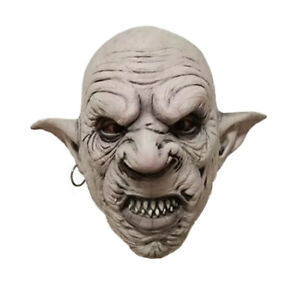 Vampire Mask Scary Adult Halloween Costume Fancy Dress
