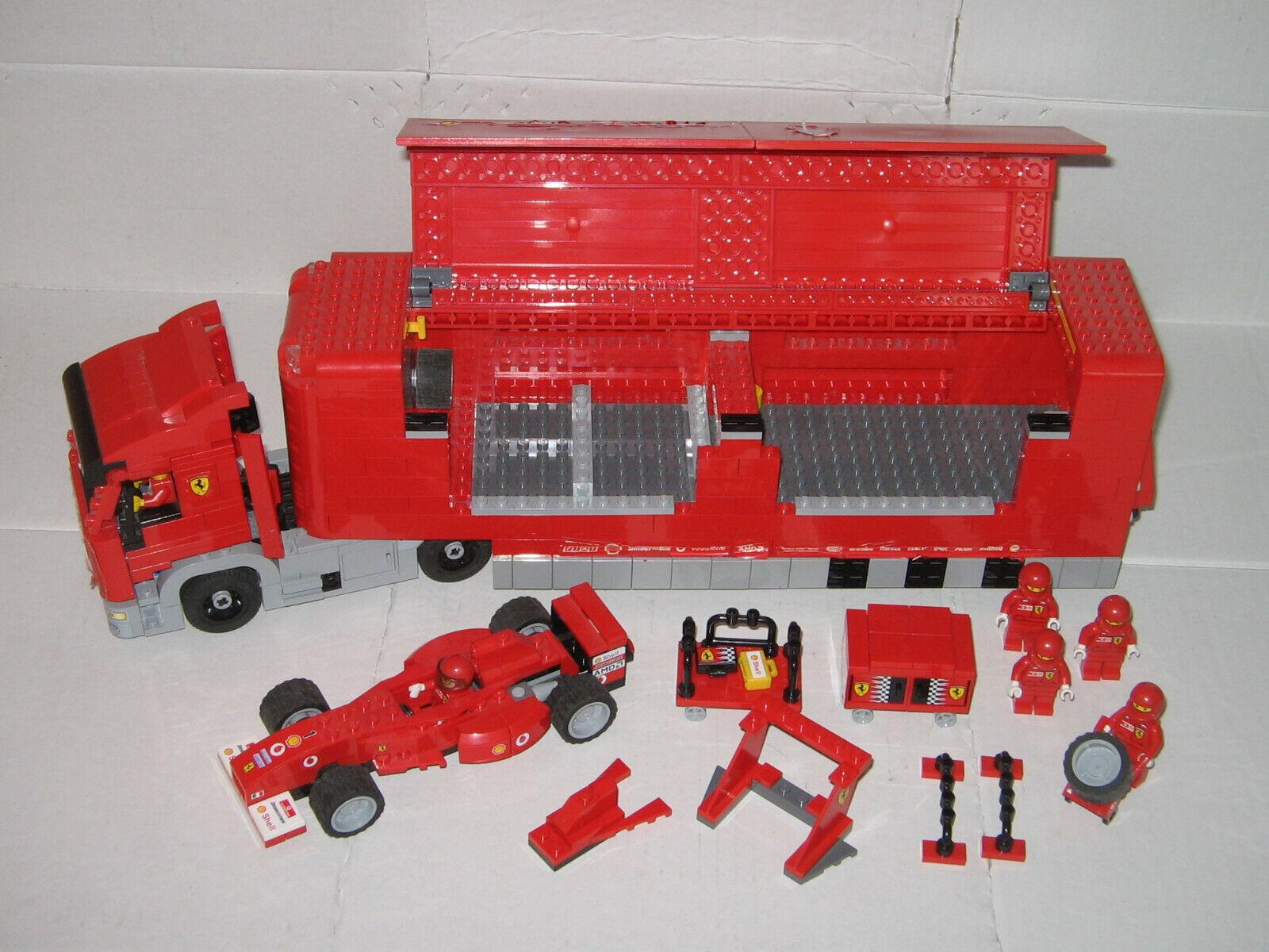 LEGO Racers 8654  Ferrari F1 Team Truck  Formel 1  Scuderia Ferrari Truck
