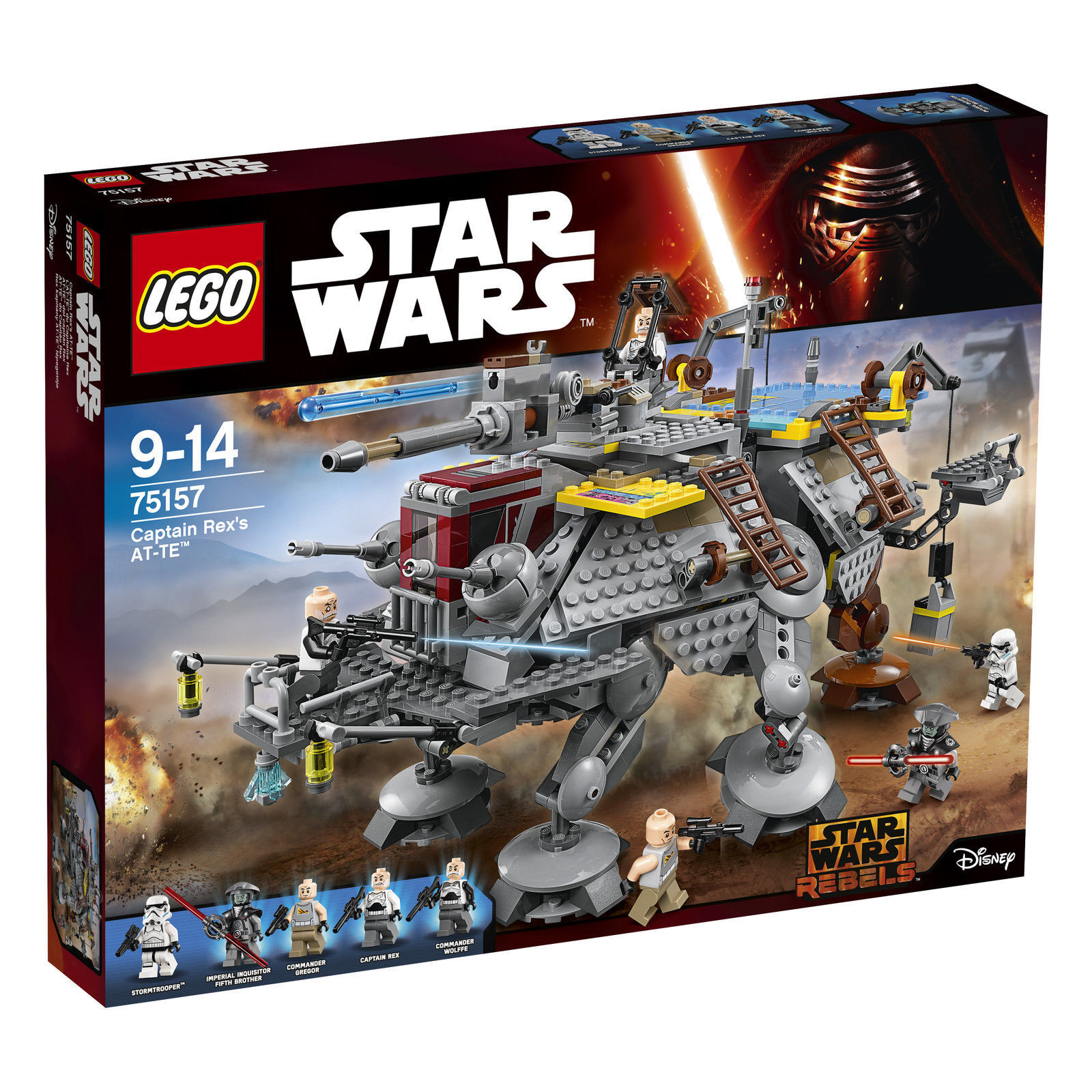LEGO® Star Wars™ (75157) Captain Rex's AT-TE™ inkl Versand Neu & Ovp