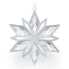 2b7d5ed16 Swarovski Crystal Christmas Ornament Silver Star 5064261 for sale ...