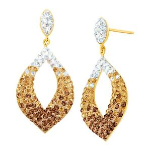 Crystaluxe-Drop-Earrings-w-Swarovski-Crystals-in-14K-Gold-over-Sterling-Silver