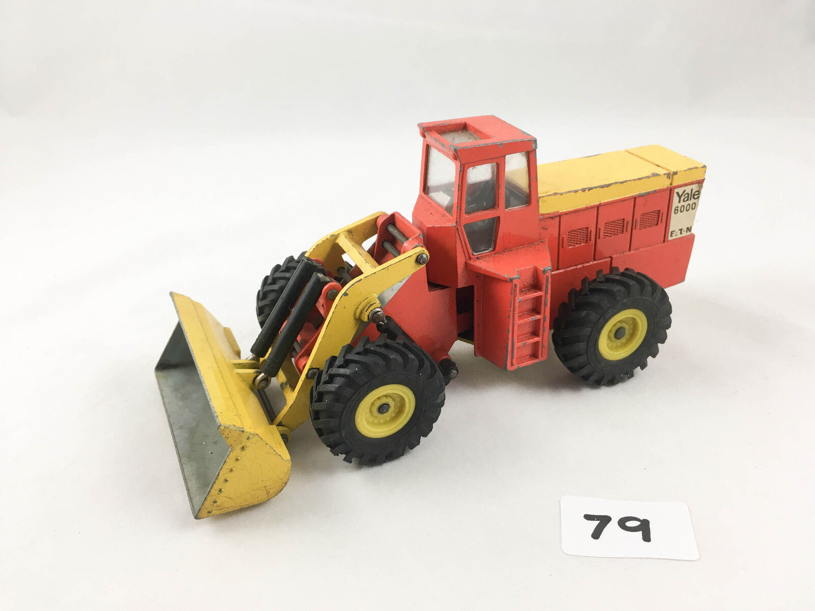 VERY RARE DINKY SpielzeugS   973 EATON YALE ARTICULATED TRACTOR SHOVEL 1971-75