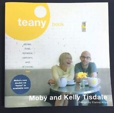 Teany Book Moby Kelly Tisdale 2005 Paperback Tea Food Stories Romance Recipes