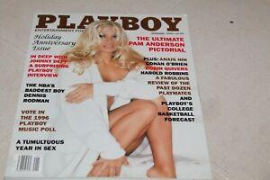PLAYBOY MAGAZINE JAN 1996 PAM ANDERSON HOLIDAY ANNIVERSARY ISSUE