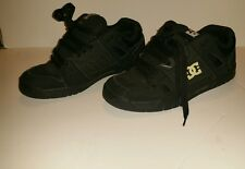 Used Worn Size 12  DC Shoes Stag Skateboard Shoes Black