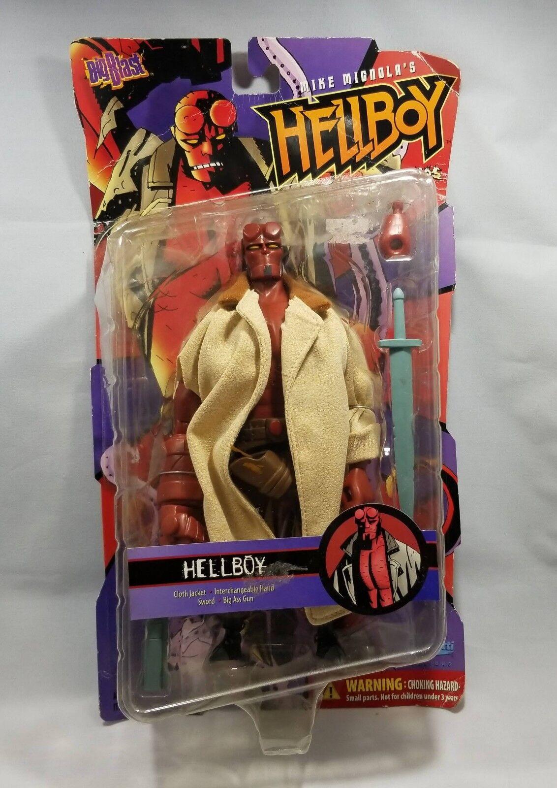 Mike Mignola's Hellboy Millenium  Series Big Blast Action Figure 2001  des prix moins chers