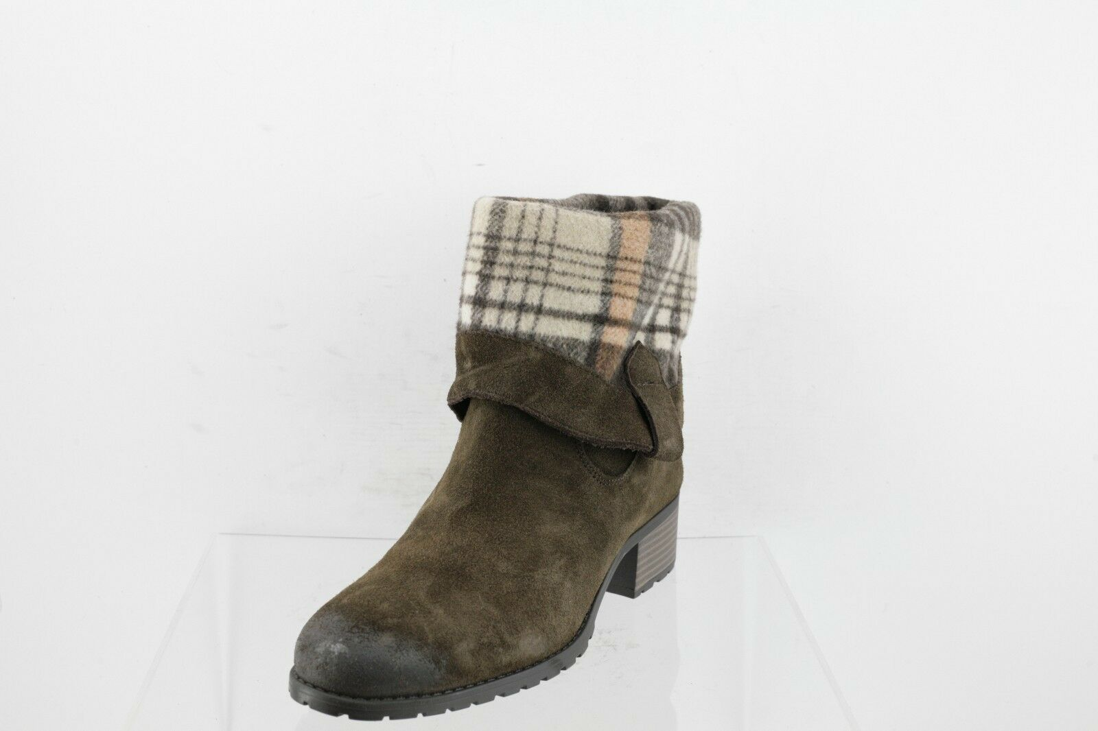 Charles by Charles David Brown Suede Mid-Calf Boots Women's Shoes Size 10 M NEW