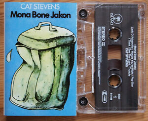 CAT-STEVENS-MONA-BONE-JAKON-ISLAND-54409-1990s-ITALY-CASSETTE-REISSUE-EX