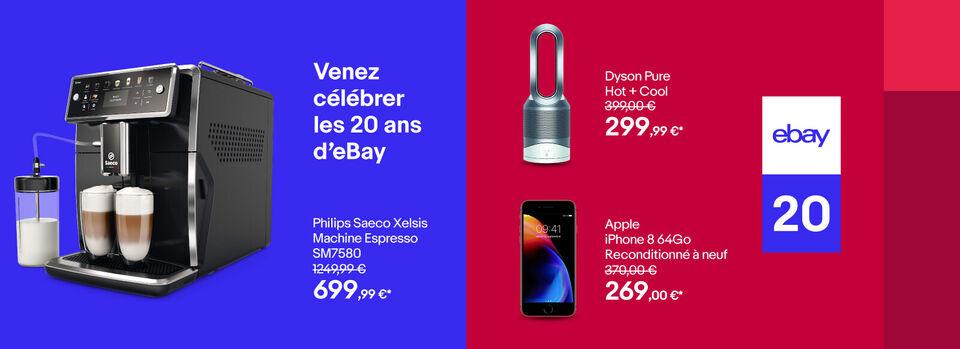 Livraison gratuite - eBay, 20 ans aux côtés des vendeurs français