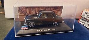 IXO-1-43-SIMCA-9-ARONDE-1954-NEUF-EN-BOITE