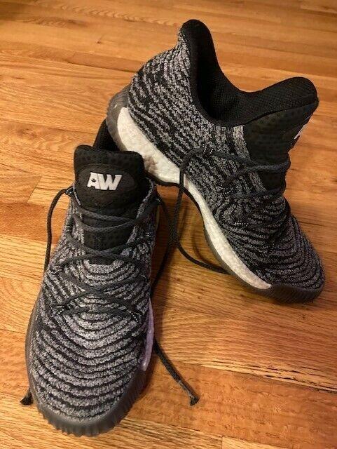 Adidas CrazyExplosive Low PrimeKnit Andrew Wiggins PE Basketball Shoes Size 11.5