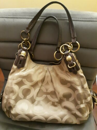 Coach Bag, Coach Handbag, Coach Tan Handbag, Desig
