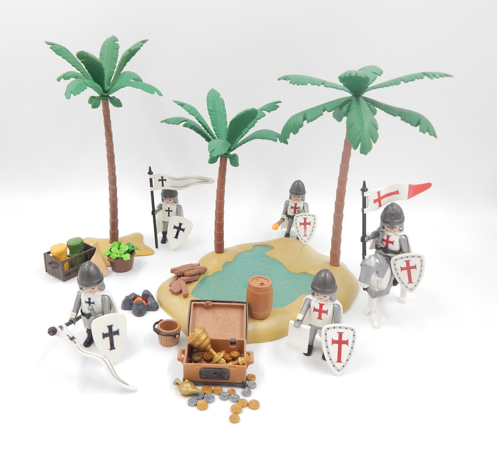 varie dimensioni PLAYMOBIL personaggi templare tedesco Cavalieri Cavalieri Templari in Terra Santa Santa Santa  negozio online