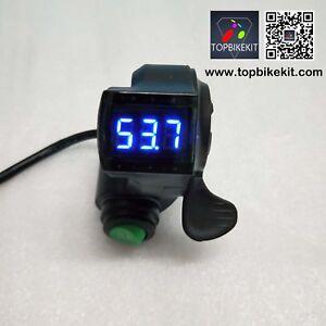 24V-36V-48V-60V-Thumb-Throttle-with-Cruise-function-LED-voltage-displayfor-ebike