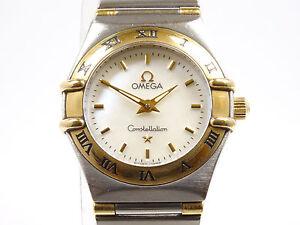 Damenuhr-Omega-Constellation-Mini-Stahl-Gold-Ref-13627000-Mod-56821083-Quarz