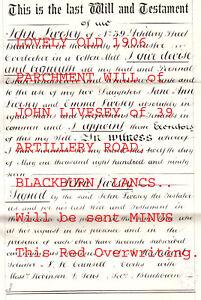 M49. JOHN LIVESEY of BLACKBURN, WILL