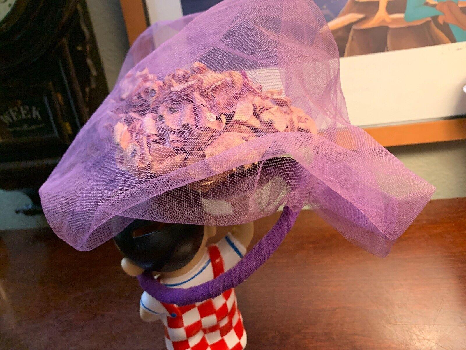 Antique Woman's Vintage Hat 1930-40's Classic Ame… - image 5