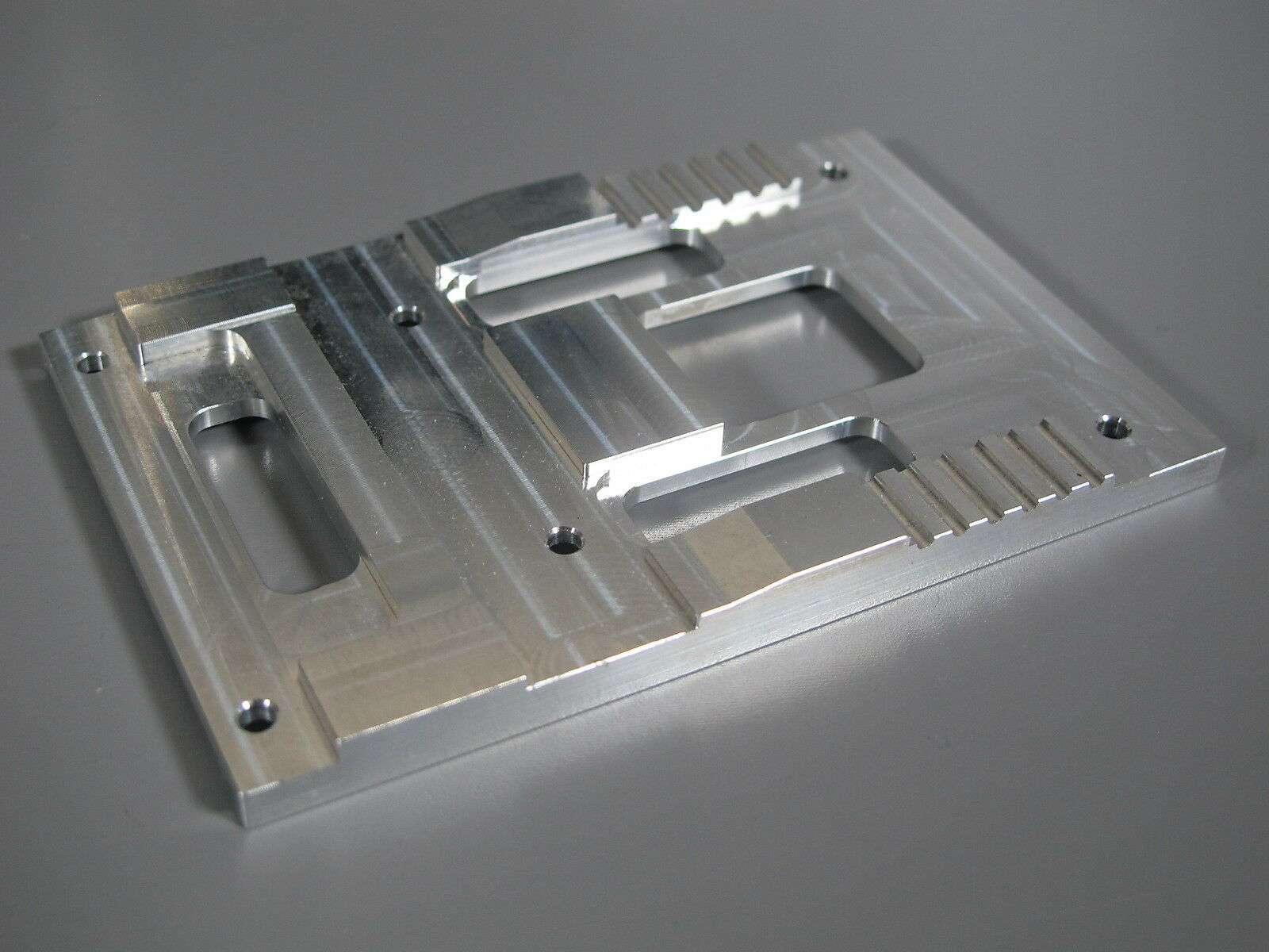 Aluminum Fifth Wheel Coupling A A A Mount Plate Tamiya 1 14 King Knight Grand Hauler 04cb46