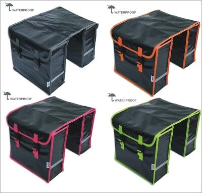 fahrrad satteltasche doppeltasche gep cktr gertasche wasserdicht lynx neu ebay. Black Bedroom Furniture Sets. Home Design Ideas