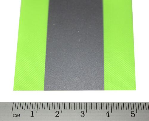 Reflexband   50mm breit 5m,10m,50m  Reflektorband neon-silber