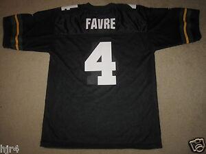 Brett-Favre-4-Green-Bay-Packers-NFL-Black-Jersey-48-mens