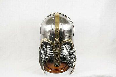 Medieval Dark Legionnaire Greek Corinthian Helmet By Vikingsreplica
