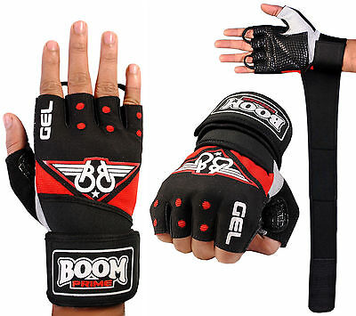Men Cycling Gloves Bike Half Finger Bicycle Gel Padded Fingerless Sports Mtb
