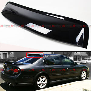 For 2000 2003 5th Gen Nissan Maxima A33 Jdm Black Rear Window Roof Visor Spoiler Ebay
