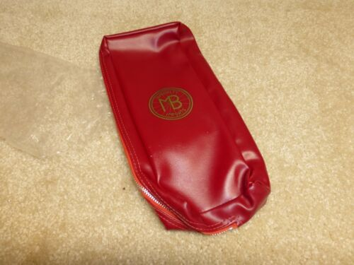 """RED- /""""NOS/"""" Vintage 1960/'s 1970/'s /""""MBS/"""" Sew-up Rear Tire Bag"""