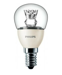 philips 6w e14 led light bulb dimmable ses 40w warm white. Black Bedroom Furniture Sets. Home Design Ideas