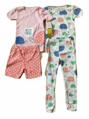 NEW CARTERS Just One You Baby//Toddler Girls 3-4PC PJ SETS 9M,12M,18M,2T,4T or 5T
