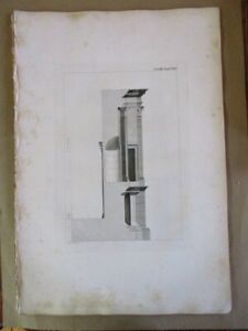 Early-Engraving-Middle-TRANVERSE-PHILAPAPPAS-MONUMENT-Antiquities-Athens-1794