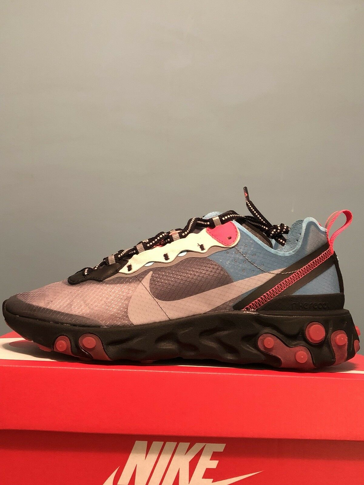 Nike 87 React React React Element 87 Nike Solar rosso DS Sz.7 78859e koenscraft  f6b95c