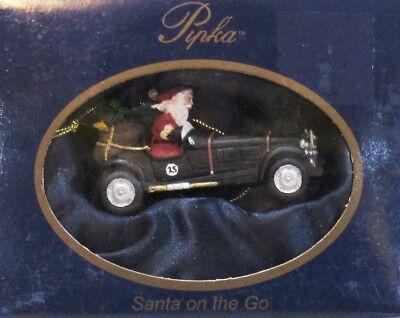 "PIPKA ORNAMENT  Stories of Christmas 2011 /""MIDNIGHT RACER/""  NIB B"