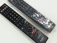 Sharp Tv Remote For Lc46le835u Lc-46le835u r065