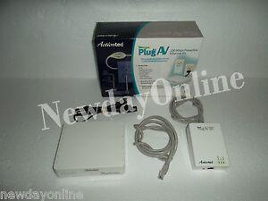 Actiontec-MegaPlug-AV-200Mbps-Powerline-Network-Adapter-Kit-RJ-45-HLE20043-01KP