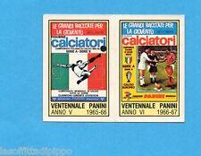 PANINI CALCIATORI 1980/81 - Figurina n.3-RIPRODUZIONE COPERTINE 65/66-66/67 -NEW