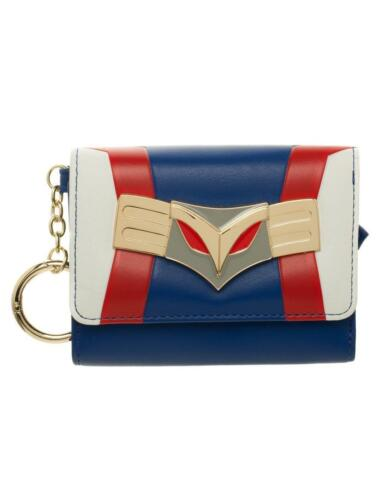OFFICIAL MY HERO ACADEMIA ALL MIGHT STYLED TRI-FOLD PURSE// WALLET NEW