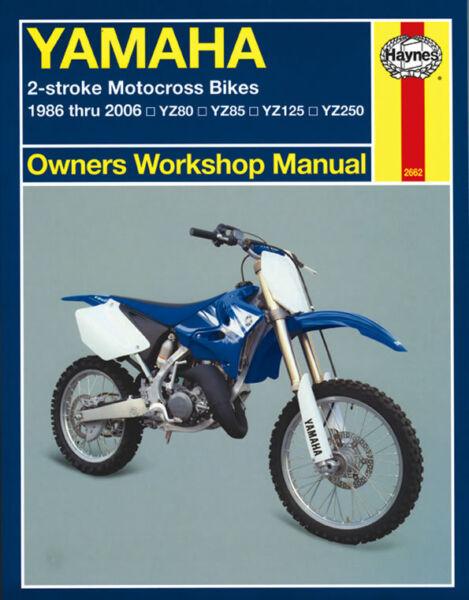 Details about 1986-2006 Yamaha YZ 80 85 125 250 YZ80 YZ85 YZ125 YZ250 on