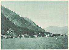 G0238 Montenegro - Kotor - Un coin de Cattaro - Stampa d'epoca - 1923 Old print