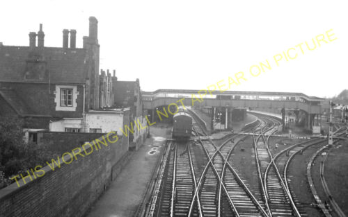 Great Eastern Railway. 12 March Railway Station Photo